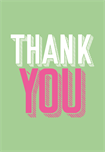 Thank you - groen